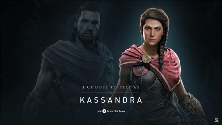 Assassin's Creed Odysseyは主人公を男女選択可能